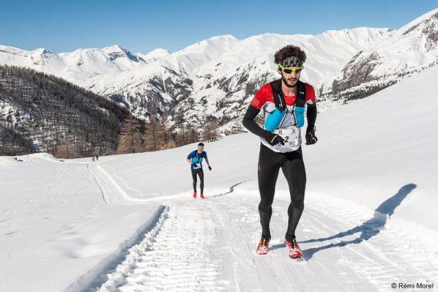 Thibaut Baronian Ubaye Snow Trail Salomon