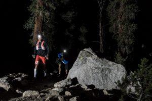François D'Haene lors de son F.K.T sur le John Muir Trail - DROZ Photo