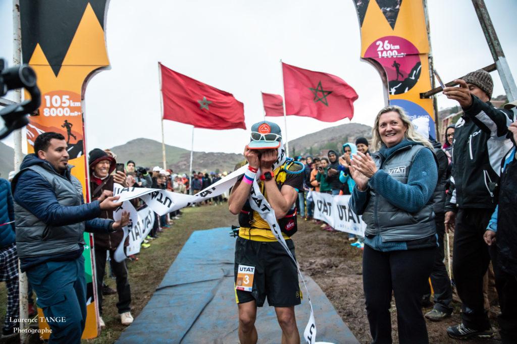 Rémi Loubet rempote l'UTAT 105km - Photo Laurence Tange